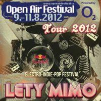 100°C, Lety Mimo a NiceLand vyrážejí na Open Air Festival Tour 2012