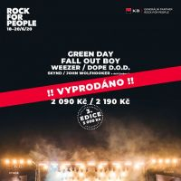 Festival Rock for People hlásí vyprodáno!