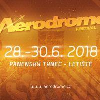 Aerodrome festival se promění v třídenní multižánrovou přehlídku  zahraničních hvězd!