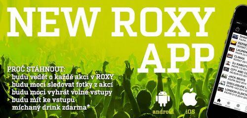 ROXY spouští novou mobilní aplikaci pro fanoušky!